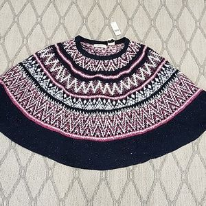 Anthropologie sweater poncho